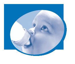 L'eau minérale Thonon, recommandée aussi pour votre bébé.